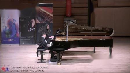 7岁Anson获得加拿大全国钢琴比赛第2名