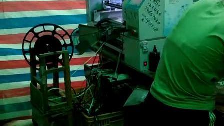 郑州客户 5台贴片机LED生产