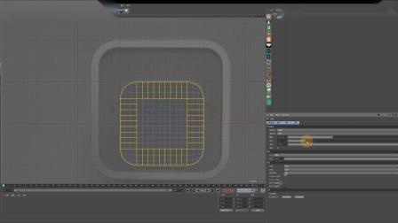 C4D+OC麦克风产品建模渲染2-【网孔建模技巧】-17感课堂_x264