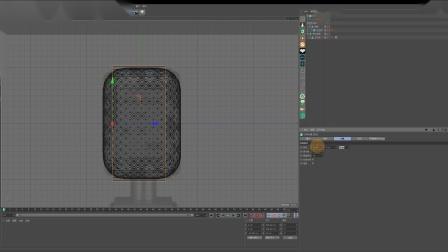 C4D+OC麦克风产品建模渲染3-【内部网孔 头部边框建模】-17感课堂_x264