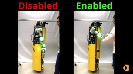CMU球轮独轮机器人ballbot,看起来还比较稳