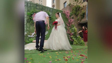 凯宁婚庆草坪婚礼