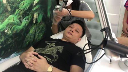 超皮秒祛斑操作实际案例——中国美容仪器总监康少林