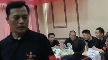 三十八军蒲城战友联谊会 简餐鲁席,保持光荣传统!