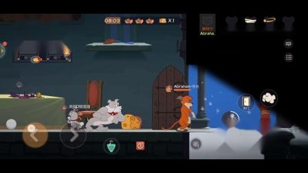 【猫和老鼠手游】闪电橘猫莱特宁试玩,瞬间移动的速度!