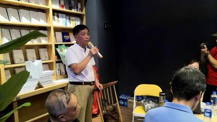 孙仁寿在散文集《心河流淌》发布会上 感言