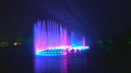 世园会喷水灯光秀