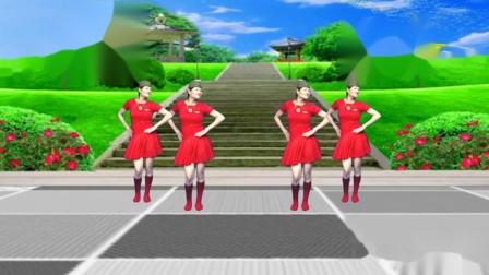 舞韵含香广场舞水兵舞《草原的夏天》 编舞:圆月如歌