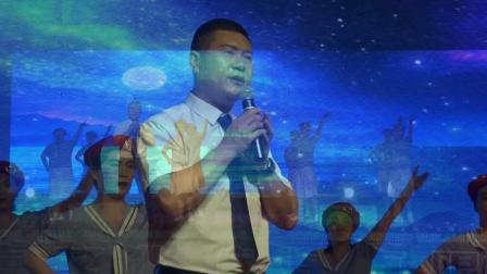 民勤县东坝镇庆(七一)16三干所合唱  军港之夜 --5分