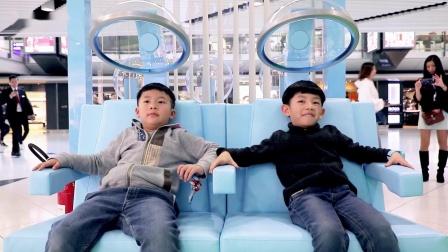 香港国际机场互动体验区广告参考2019