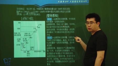 大家学高中历史一轮复习:中国古代文明的成熟与繁荣