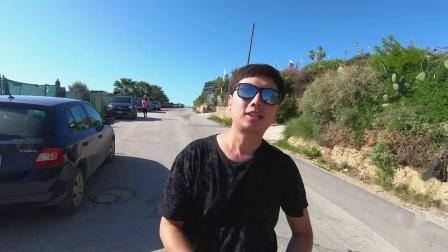 自驾游【环意大利】Day6【土耳其阶梯Scala dei Turchi】自驾游小攻略vlog54--ciao意呆利