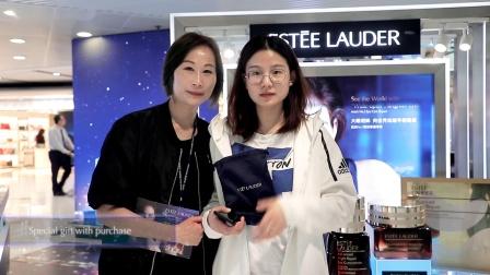 香港国际机场广告参考:雅诗兰黛