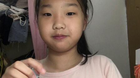 小学生化妆之晚间护肤