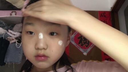 小学生化妆之气场妆