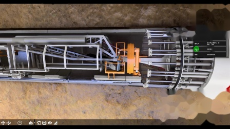 Fuzor2019-盾构机运行模拟交互场景