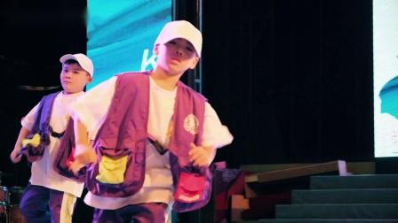 义乌街舞KOS暑期九周年14.少儿hiphop基础班《humble》