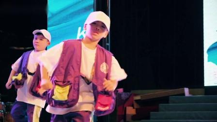 义乌街舞KOS暑期九周年16.少儿hiphop进阶班《3and4》
