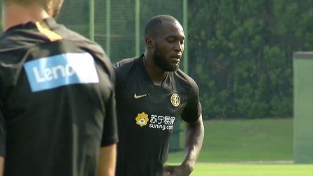 ROMELU LUKAKU CAM   FIRST TRAINING SESSIONS WITH INTER!   #WelcomeRomelu