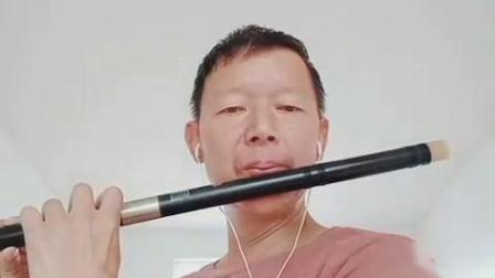 笛子合奏《心雨》C同5:上传:李文林
