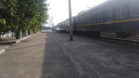 下k1157列车。