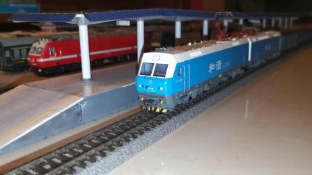 HXD1  1085  西局安段 进站