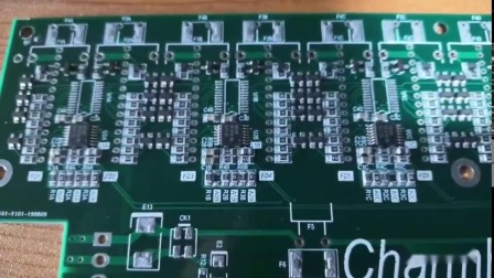 常衡机电东莞客户CHM-T761P6实贴
