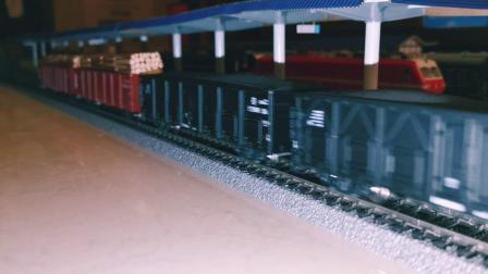 HXD1 0096太局湖段+2辆HXD3 0061上局宁东段牵引货运