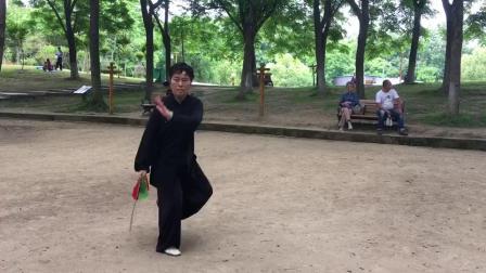 刘美华老师演练十三刀
