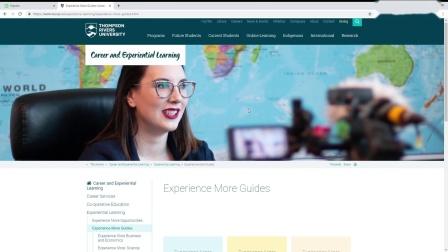 校外教育 (Extra-Curricular Learning – Thompson Rivers University)