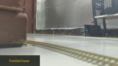 [火车模型]弯道起舞!和谐篇 普速最佳搭档 密接钩展示 HXD3C+25G