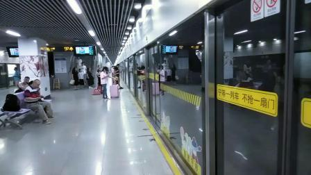 上海地铁10号线10043水城路出站(航中路方向)