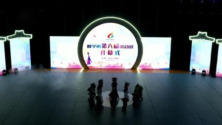 普宁市第六届运动会轮滑表演