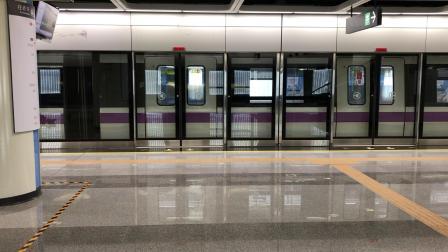 深圳地铁5号线(环中线)南延段545车赤湾方向桂湾站出站