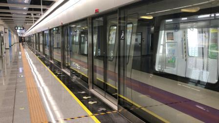 深圳地铁5号线(环中线)南延段505车黄贝岭方向桂湾站出站