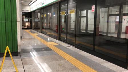 深圳地铁1号线(罗宝线)112车竹子林晚高峰出厂