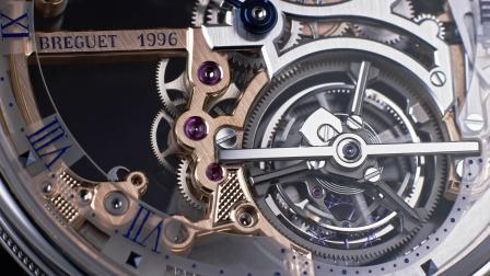 宝玑Classique经典系列5395超薄陀飞轮镂空腕表
