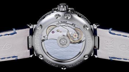 宝玑Marine航海系列9518女士镶钻钢质腕表
