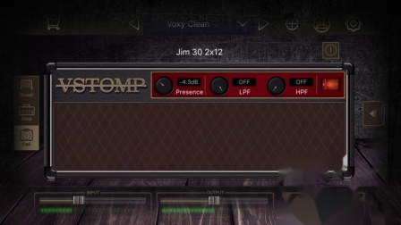 VStomp Amp Mobile 音箱模拟软件效果器(For iPhone)
