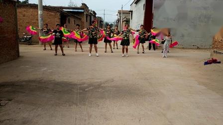 珠中阳阳广场舞――拥军秧歌