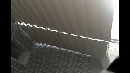 重庆铭景窗帘:电动天棚帘视频实拍应用展示