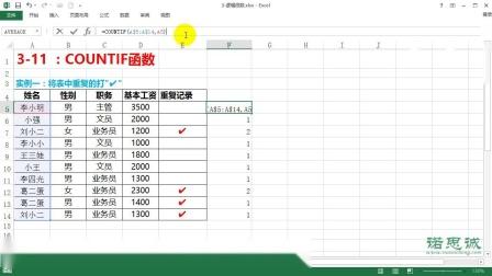 3-7:COUNTIF函数.wmv