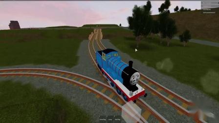 托马斯坦克引擎带着托马斯和朋友的城市之旅酷豆铁路机器人