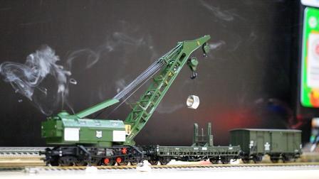 Trix 23057 蒸汽鐵路大吊