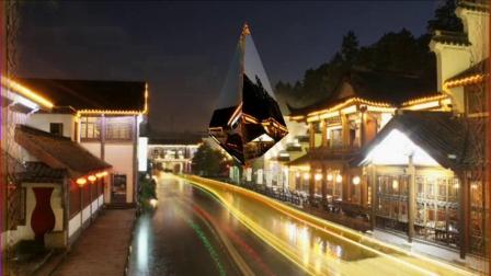 南京秦淮河夜景美如画