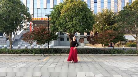 梅子广场舞《玛域姑娘》(2)编舞雨夜  演示梅子