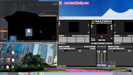 MADRIX 5连接WYSIWYG R40(字幕版)