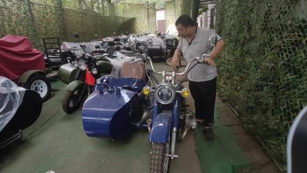 改装长江750摩托车边三轮,就是这麽简单