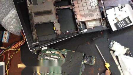 笔记本拆机清灰视频_高清
