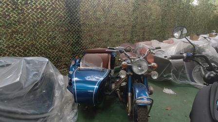 精品长江750边三轮摩托车,好看又好玩